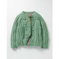 Cable Cardigan Csarite Green Girls Boden, Green