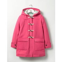 The Duffle Coat Pink Girls Boden, Pink