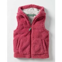 Cosy Gilet Pink Girls Boden, Pink