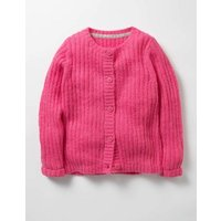 Cosy Everyday Cardigan Pink Girls Boden, Pink