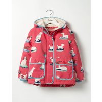 Sherpa-lined Anorak Pink Girls Boden, Pink