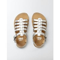 Leather Gladiator Sandals Metallic Girls Boden, Metallic