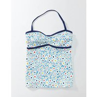 Tankini Top Bright Bluebell Daisy Girls Boden, Blue