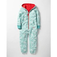 Cosy All-in-one Blue Girls Boden, Blue