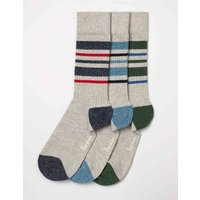 Off-Duty Socks Grey Men Boden, Multicouloured