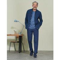 Straight Leg Chinos Blue Men Boden, Blue