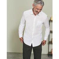Poplin Shirt White Men Boden, White