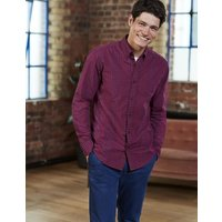 Slim Fit Casual Pattern Shirt Red Men Boden, Red