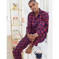 Brushed Cotton Pyjama Set Red Men Boden, Red