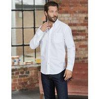 Classic Oxford Shirt White Men Boden, White