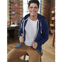Off-Duty Hoody Blue Men Boden, Blue