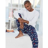Printed Brushed Pull-Ons Navy Men Boden, Navy