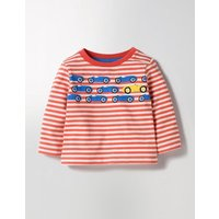 Spot The Difference T-shirt Red Baby Boden, Red