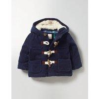 Cord Duffle Coat Navy Baby Boden, Navy
