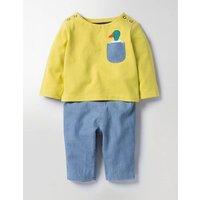 Pocket Pet Play Set Yellow Baby Boden, Yellow