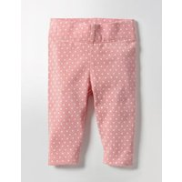 Baby Leggings Almond Blossom Pink Pin Spot Baby Boden, Pink