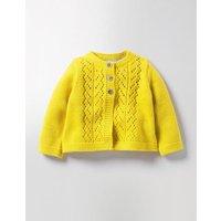 Cosy Cardigan Sweetcorn Yellow Baby Boden, Yellow