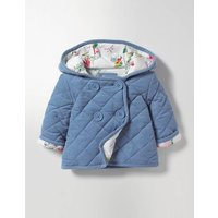 Cosy Cord Jacket Blue Baby Boden, Blue
