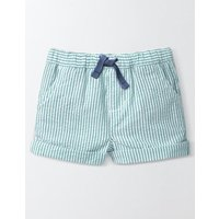 Baby Summer Shorts Skipper Blue Stripe Baby Boden, Blue