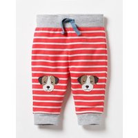 Fun Knee Trousers Red Baby Boden, Red