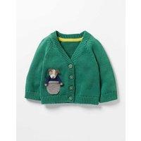 Pocket Pet Cardigan Green Baby Boden, Green
