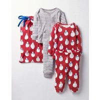 Twin Pack Fun Play Set Red Baby Boden, Red