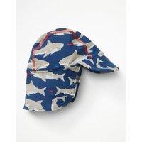 Animal Swim Hat Blue Baby Boden, Blue