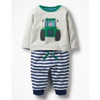 Animal Jersey Play Set Navy Baby Boden, Navy