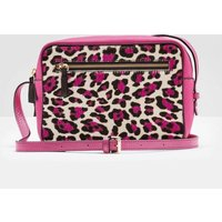 Lyon Crossbody Bag Pink Leopard Women Boden, Pink