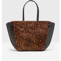 Valence Shoulder Bag Tan Leopard Women Boden, Brown