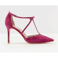 Jennifer T-Bar Heels Purple Women Boden, Purple