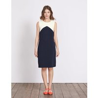 Edwina Ottoman Dress Navy Women Boden, Navy