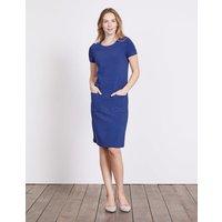 Hermione Ottoman Dress Blue Women Boden, Blue