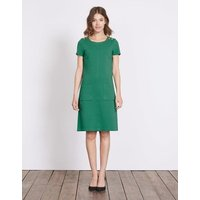 Hermione Ottoman Dress Green Women Boden, Green