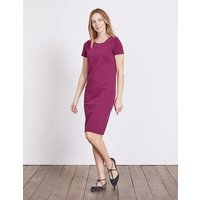 Hermione Ottoman Dress Purple Women Boden, Purple