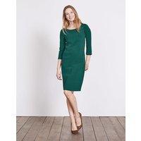 Hannah Jersey Dress Deep Forest Women Boden, Green