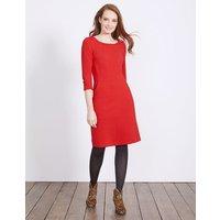 Hannah Jersey Dress Post Box Red Women Boden, Red
