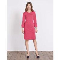 Lavinia Ponte Dress Rose Blossom Women Boden, Pink