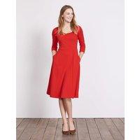 Julianna Ponte Dress Red Women Boden, Red