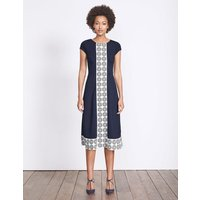 Frederica Ponte Dress Ivory Women Boden, Ivory