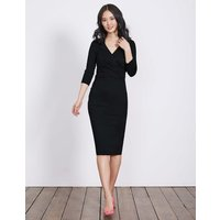 Connie Ponte Dress Black Women Boden, Black