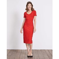 Honor Ponte Dress Red Women Boden, Red