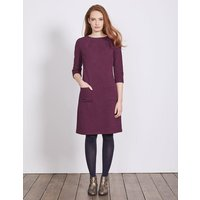 Marisole Jacquard Dress Purple Women Boden, Purple