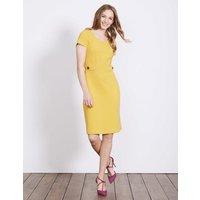 Cordelia Ottoman Dress Yellow Women Boden, Yellow