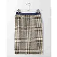 British Tweed Pencil Skirt Green Women Boden, Green