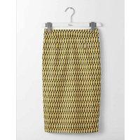 Martha Skirt Yellow Women Boden, Yellow