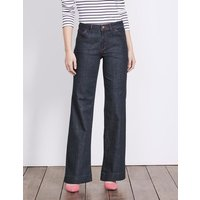 Boden Windsor Wide Leg Jeans Blue Women Boden, Blue