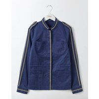 Beaded Military Jacket Harbour Women Boden, Navy