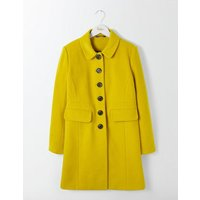 Sofia Coat Saffron Women Boden, Yellow