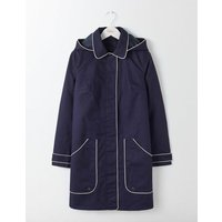 Boden Anya Waterproof Mac Navy Women Boden, Navy